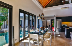 The Residence Seminyak - Villa Amala - Dining room