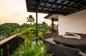 The Residence Seminyak - Villa Amman - View from balcony