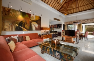 The Residence Seminyak - Villa Amman - Living area