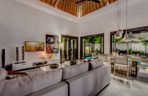 The Residence Seminyak - Villa Jepun - Living area