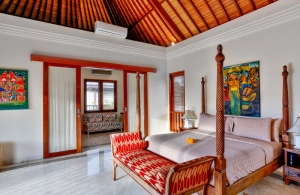 The Residence Seminyak - Villa Shanti - Bedroom two interior