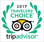 Trip Advisor Traveller Choice 2017